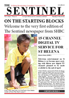 The Sentinel, vol 1 issue 1, 29 March 2012
