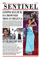 The Sentinel, 24 May 2012, vol 1 issue 9