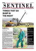 St Helena Broadcasting Corporation Sentinel 6 September 2012, vol 1 issue 24