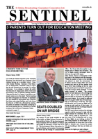 The Sentinel, 27 September 2012, vol 1 issue 27
