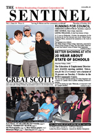 The Sentinel, 4 October 2012, vol 1 issue 28