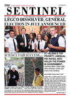 Sentinel 25 April 2013 - vol 2 issue 5