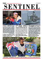 Sentinel 16 May 2013 - vol 2 issue 8