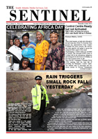 The Sentinel 6 June 2013 - Vol 2 Issue 13 - St Helena SAMS newspaper