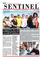 The Sentinel 4 July 2013 - SAMS newspaper on St Helena