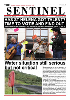 The Sentinel 11 July 2013, vol 2 issue 16, SAMS St Helena