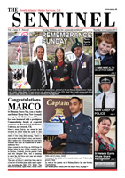 Sentinel 14 November 2013 - vol 2 issue 34