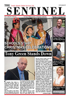 The Sentinel 12 December 2013, Vol 2 Issue 38