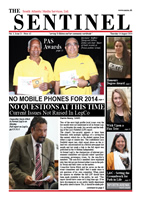 Sentinel 14 August 2014 - vol 3 issue 21