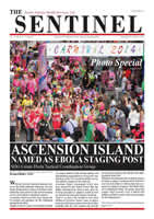 The Sentinel 23 October 2014 - Vol 3 Issue 31