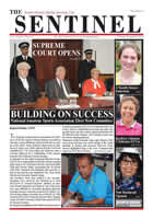The Sentinel 20 November 2014 - Vol 3 issue 35