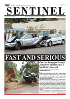The Sentinel 6 August 2015 Volume 4 Issue 20