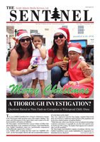 The Sentinel 17 December 2015 - vol 4 issue 39
