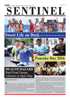 The Sentinel 11 February 2016 - vol 4 issue 45
