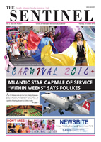 The Sentinel 20 October 2016 - vol 5 issue 29